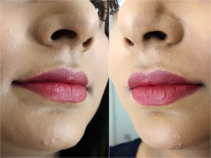 Inglot Matte Lipstick 412 Review, Swatches On Lips