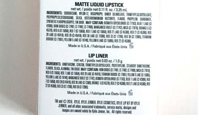 Kylie Koko K Matte Lip Kit Review Swatches Ingredients