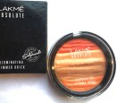 Lakme Absolute Illuminating Blush Shimmer Brick Coral Review, Swatches