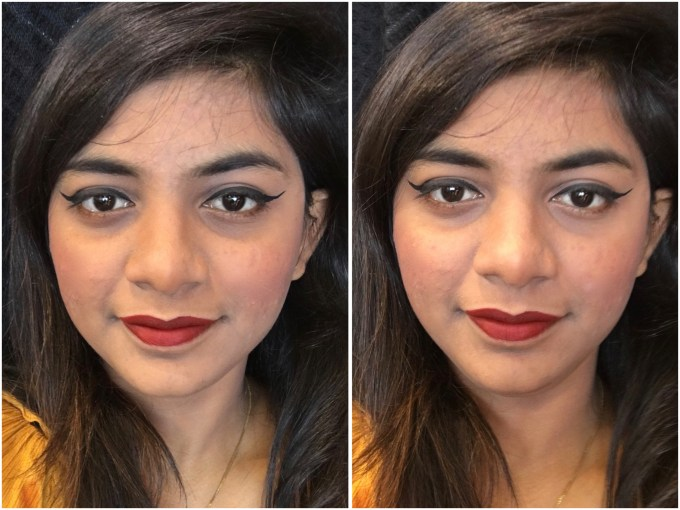 Lakme Burgundy Lush 9 to 5 Weightless Matte Mousse Lip Cheek Color Review, Swatches MBF Makeup Look