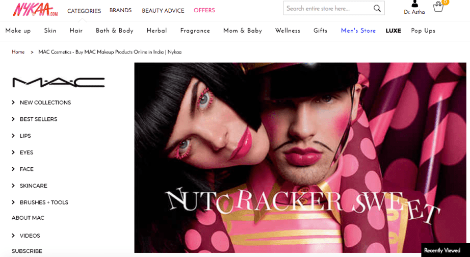 MAC Cosmetics BIG Launch on NYKAA All Details on MBF