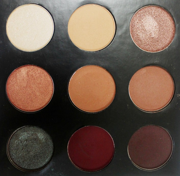 Makeup Geek Manny Mua Eyeshadow Palette Review Swatches Focus