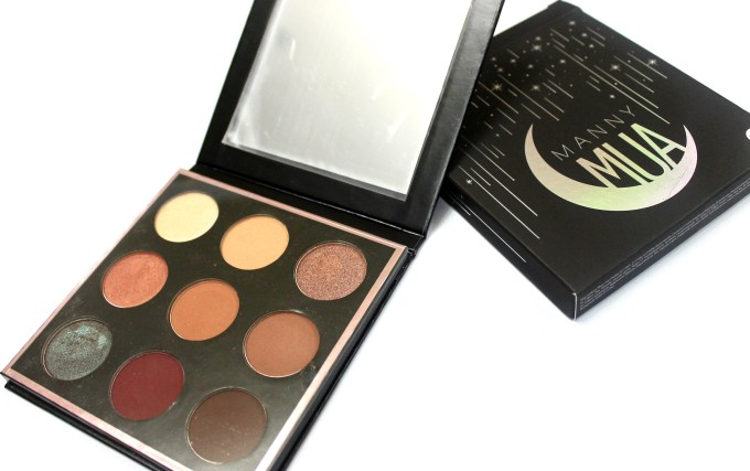 Makeup Geek Manny Mua Eyeshadow Palette Review Swatches