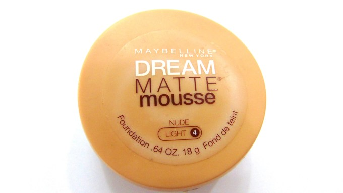 Maybelline Dream Matte Mousse Foundation Review, Swatches, Photos