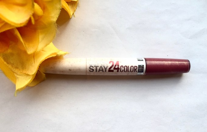 Maybelline Superstay 24 Color 2 Step Liquid Lipstick Very Cranberry 100 Review Swatches MBF