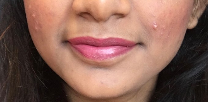 Maybelline Superstay 24 Color 2 Step Liquid Lipstick Very Cranberry 100 Review Swatches on Lips