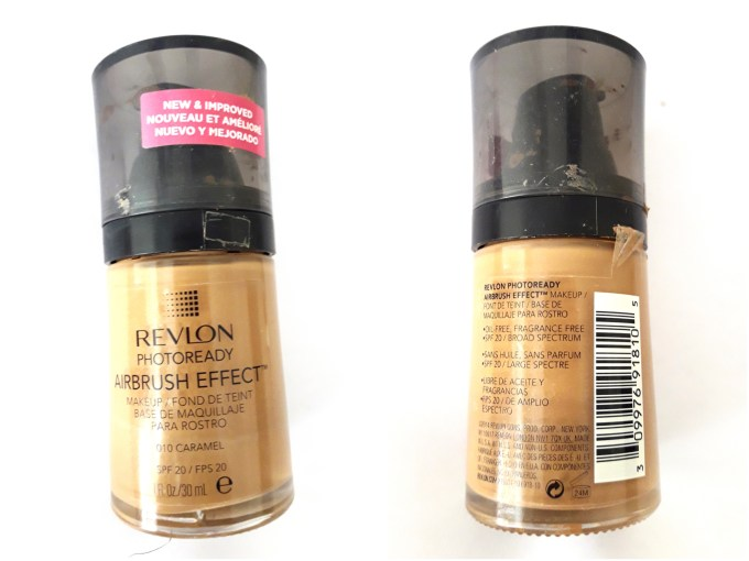 Revlon PhotoReady Airbrush Effect Makeup Foundation Review, Swatches, Demo 4