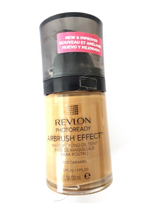 Revlon PhotoReady Airbrush Effect Makeup Foundation Review, Swatches, Demo 5