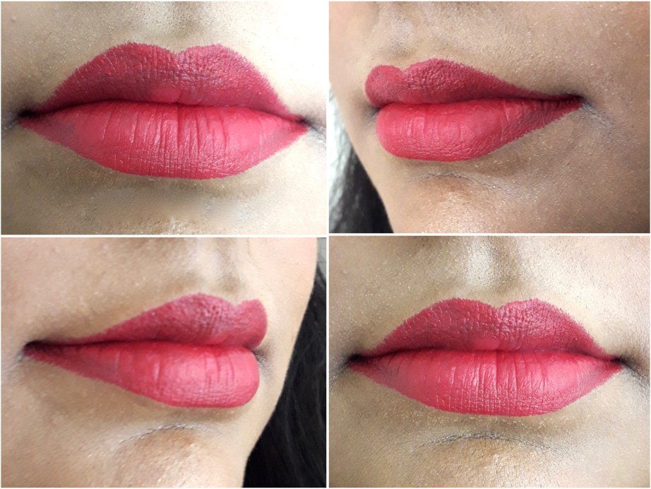 SUGAR Matte As Hell Crayon Lipstick Scarlett O'Hara 01 Review Swatches on Lips MBF Blog
