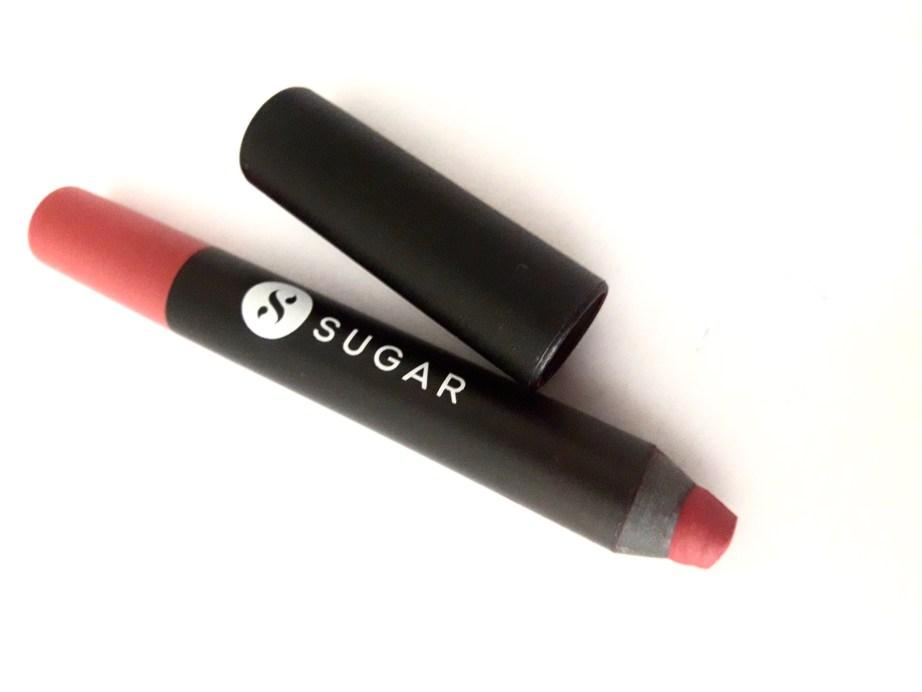 SUGAR Matte As Hell Crayon Lipstick Scarlett O'Hara Review