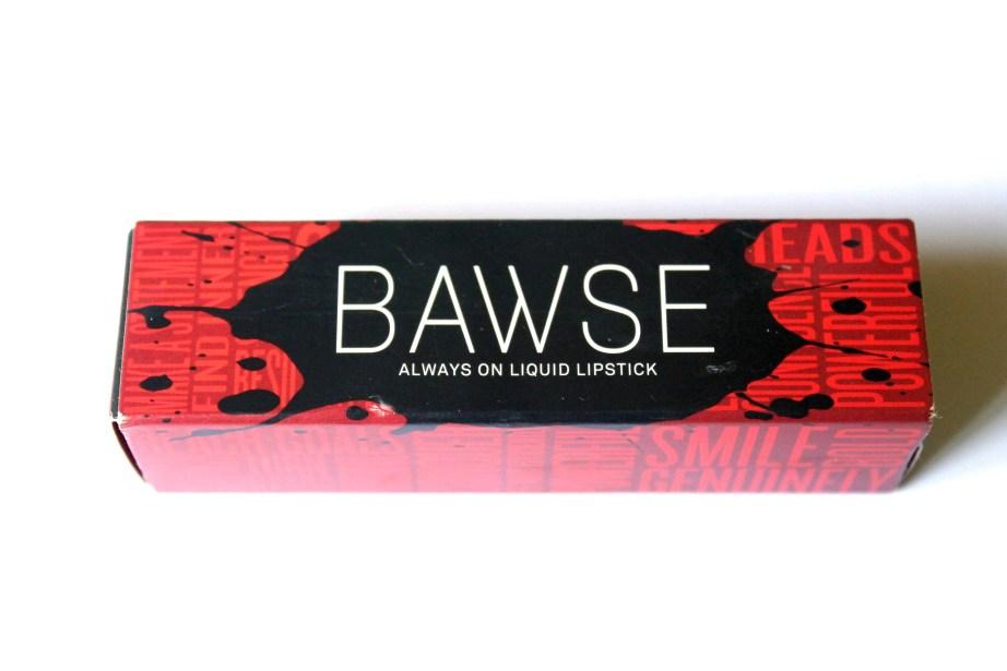 Smashbox Always On Matte Liquid Lipstick Bawse Review