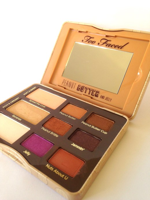 Too Faced Peanut Butter & Jelly Eyeshadow Palette Review Swatches MBF