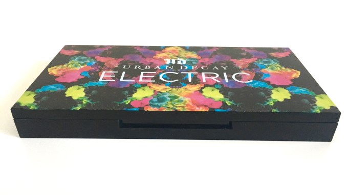Urban Decay Electric Pressed Pigment Eyeshadow Palette Lock