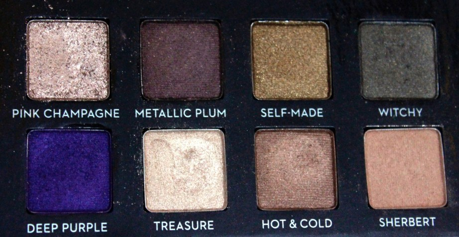 Anastasia Beverly Hills Self Made EyeShadow Palette Review, Swatches Closeup 2