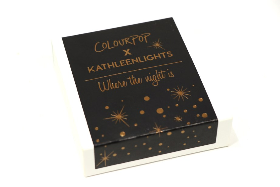 ColourPop KathleenLights Where The Night Is Super Shock Shadow Set Review, Swatches 1
