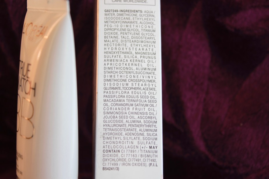 L'Oreal Paris True Match BB Cream Review, Swatches Ingredients