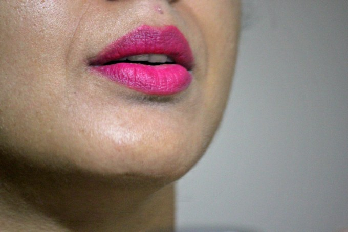 Lakme Absolute Lip Pout Matte Lip Tint Pink Fantasy Review, Swatches MBF