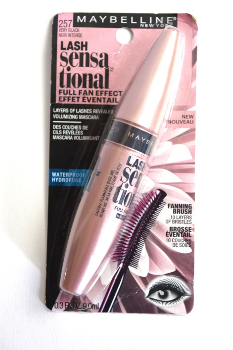 Maybelline Lash Sensational Mascara Review, Swatches 1