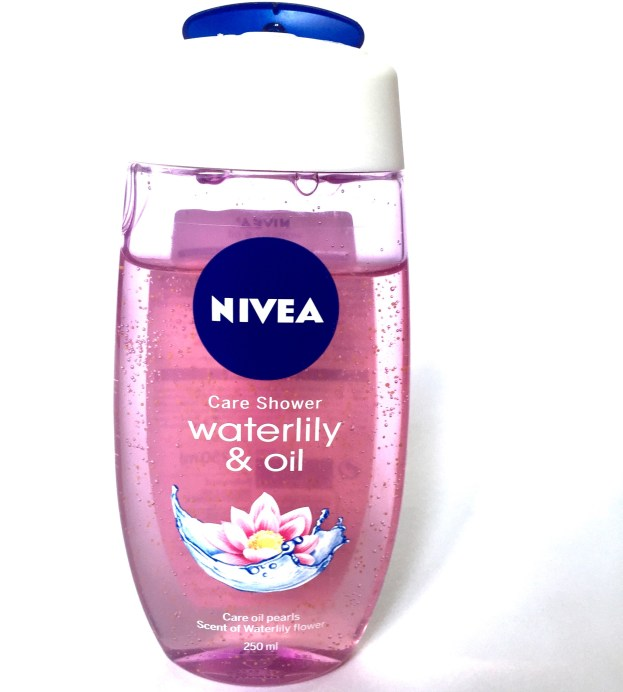 Nivea Waterlily & Oil Shower Gel Review Front