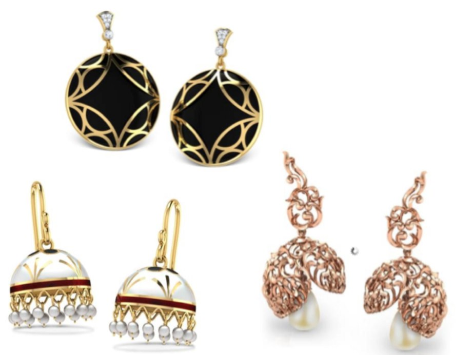 Top Designer Earrings India