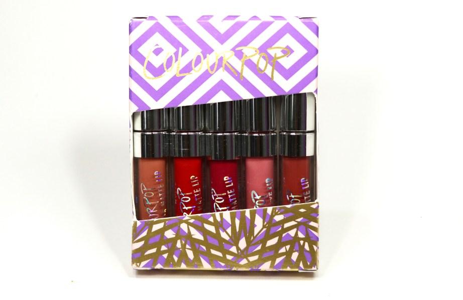 ColourPop Foxy Ultra Matte Mini Lip Kit Review, Swatches