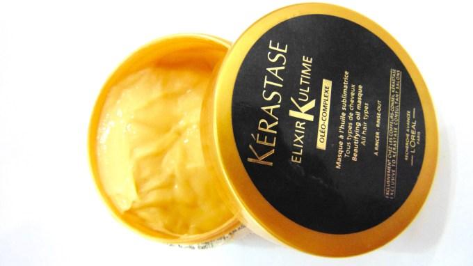 Kerastase Elixir Ultime Beautifying Oil Masque Review Inside