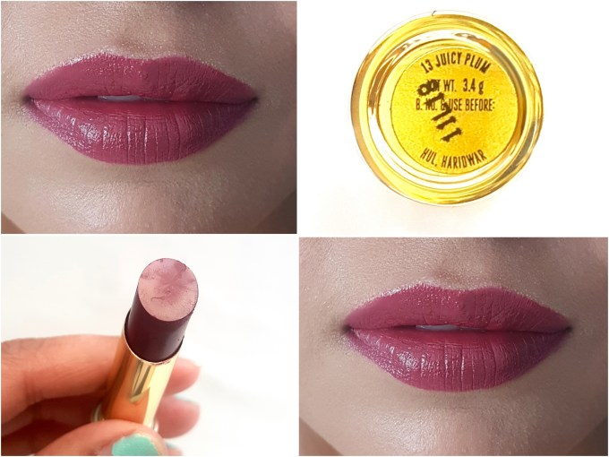 Lakme Absolute Argan Oil Lip Color Juicy Plum Review, Swatches On Lips