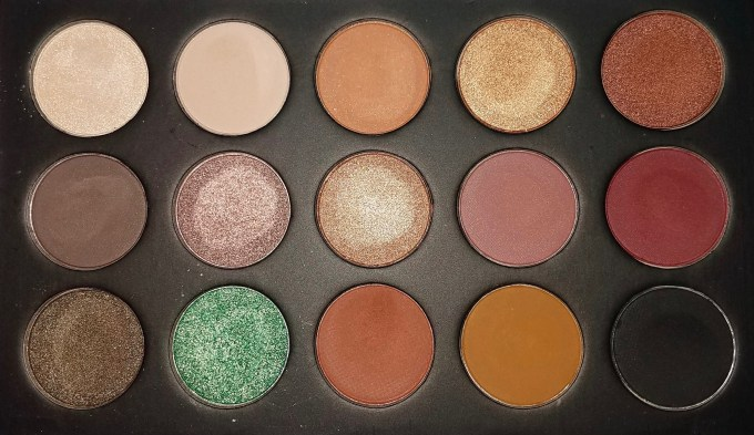 Morphe Kathleen Lights Eyeshadow Palette Review, Swatches Close Up