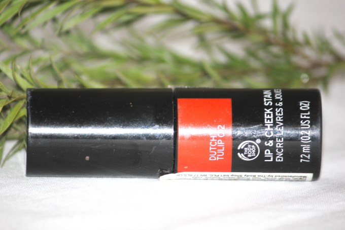 The Body Shop Lip and Cheek Stain Dutch Tulip 012 Review, Swatches MBF