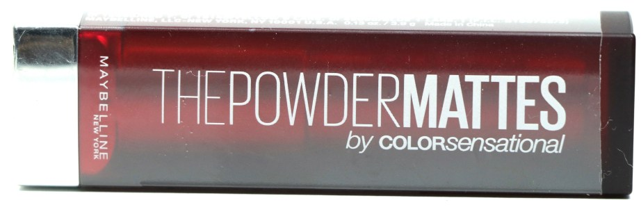 All Maybelline Powder Matte Lipsticks Shades Review, Swatches Packaging