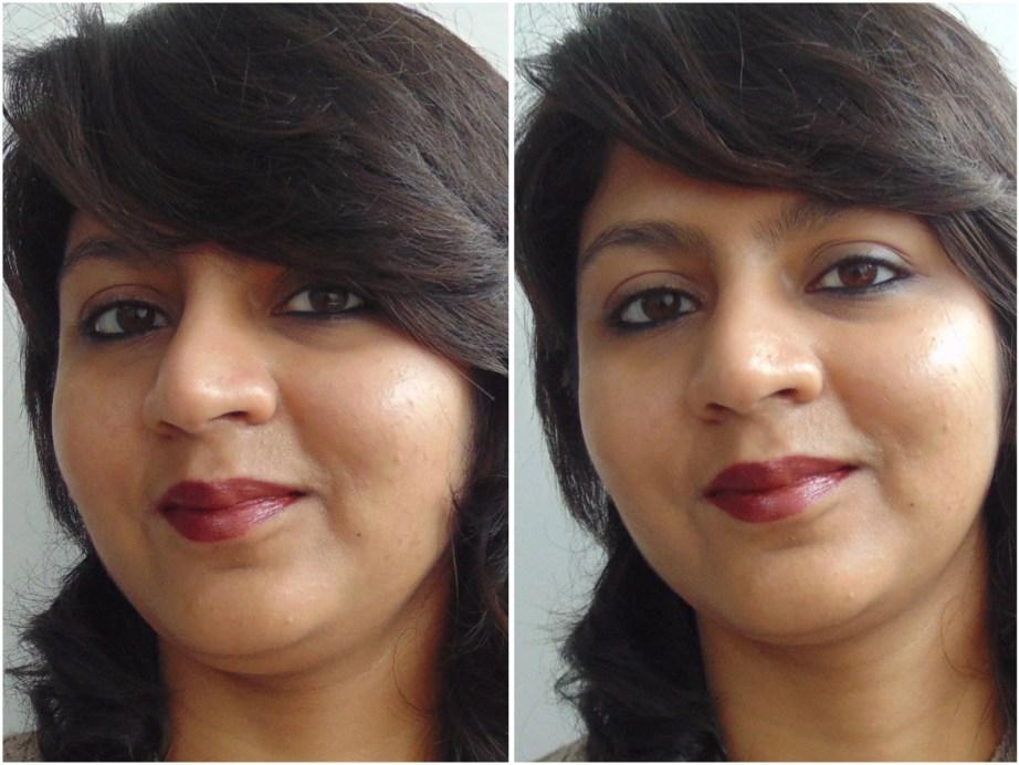 Estée Lauder Pure Color Long Lasting Lipstick Hot Kiss Review, Swatches MBF Makeup Look