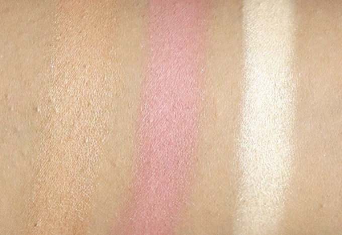 FACES Ultime Pro Face Palette Fresh Review, Swatches bronzer blush highlighter