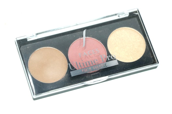 FACES Ultime Pro Face Palette Fresh Review, Swatches