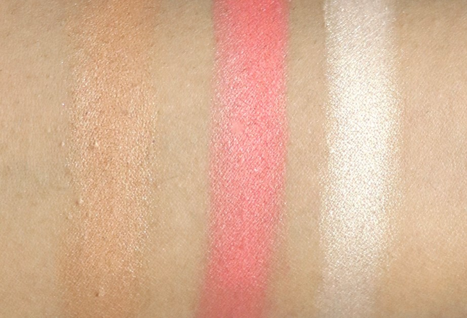 FACES Ultime Pro Face Palette Glow Review, Swatches Bronzer Blush Highlight