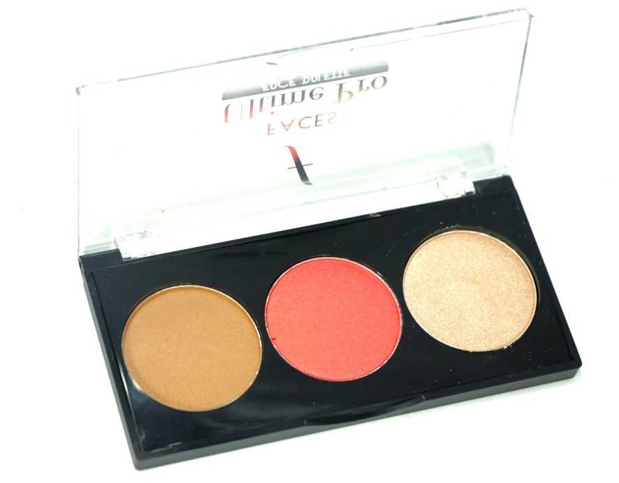 FACES Ultime Pro Face Palette Glow Review, Swatches MBF
