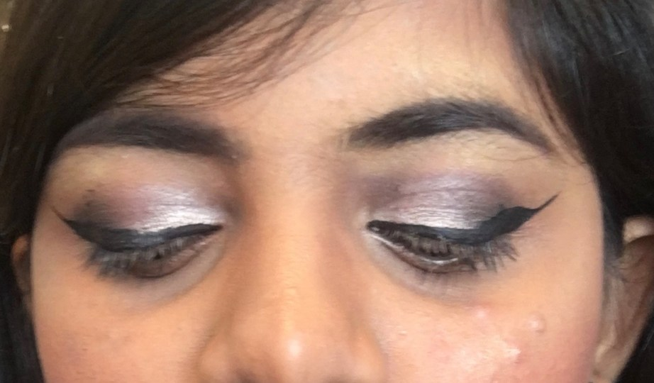 Faces Ultime Pro Eyeshadow Palette Rose Review, Swatches MBF Eye Makeup look