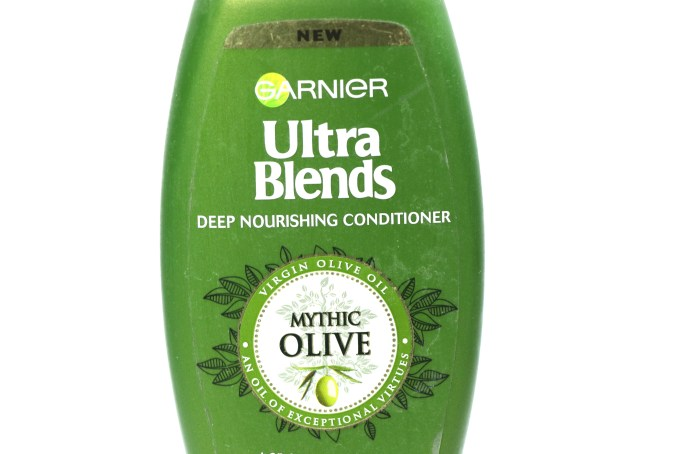 Garnier Ultra Blends Mythic Olive Conditioner Review MBF Blog