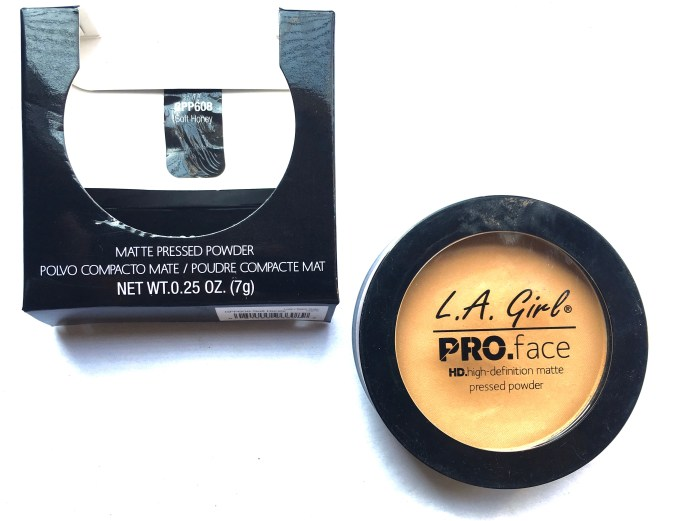 L.A. Girl Pro Face HD Matte Pressed Powder Review, Swatches Makeup Blog