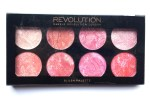 Makeup Revolution Blush Palette Blush Queen Review, Swatches