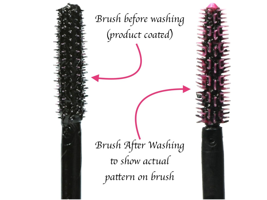 Maybelline Falsies Push Up Drama Mascara Review Swatches Demo Applicator Before After