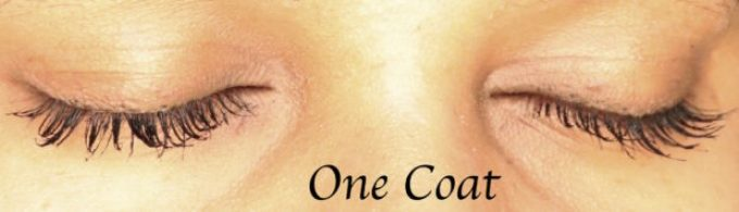 Maybelline Falsies Push Up Drama Mascara Review, Swatches, Demo one coat both eyes