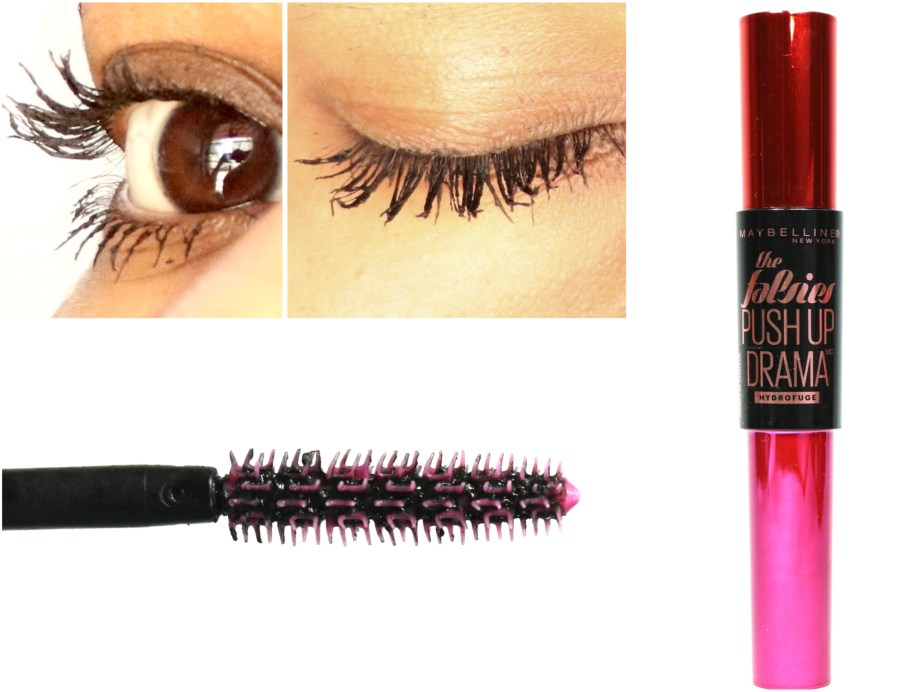 Maybelline Falsies Push Up Drama Mascara Review, Swatches, Demo