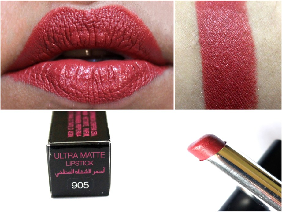 Mikyajy Ultra Matte Lipstick Shade 905 Review, Swatches MBF Blog