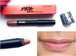 Nykaa Matteilicious Lip Crayon Next Level Nude Review, Swatches