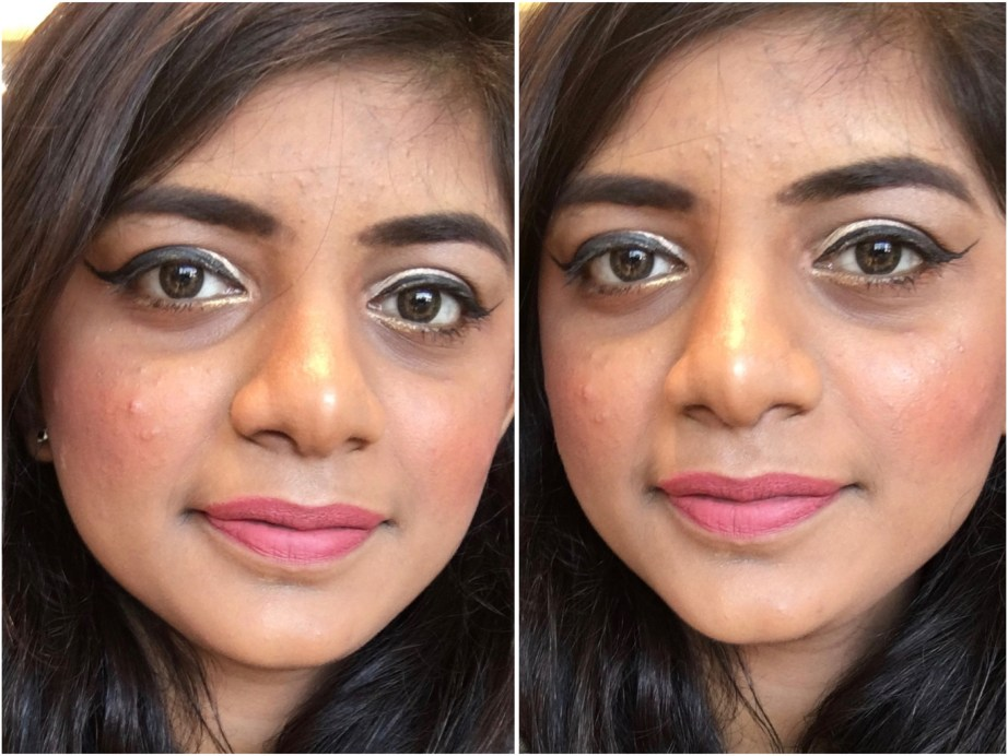 Nykaa Matteilicious Lip Crayon Pink On Fleek Review, Swatches MBF Makeup Look