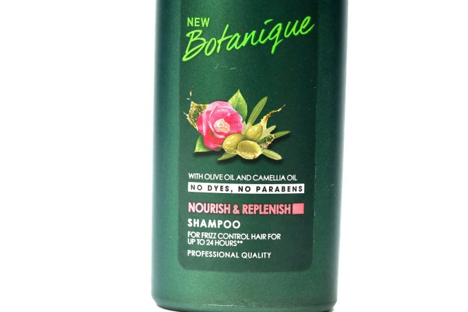TRESemmé Botanique Nourish & Replenish Shampoo Olive Camellia Oil Review
