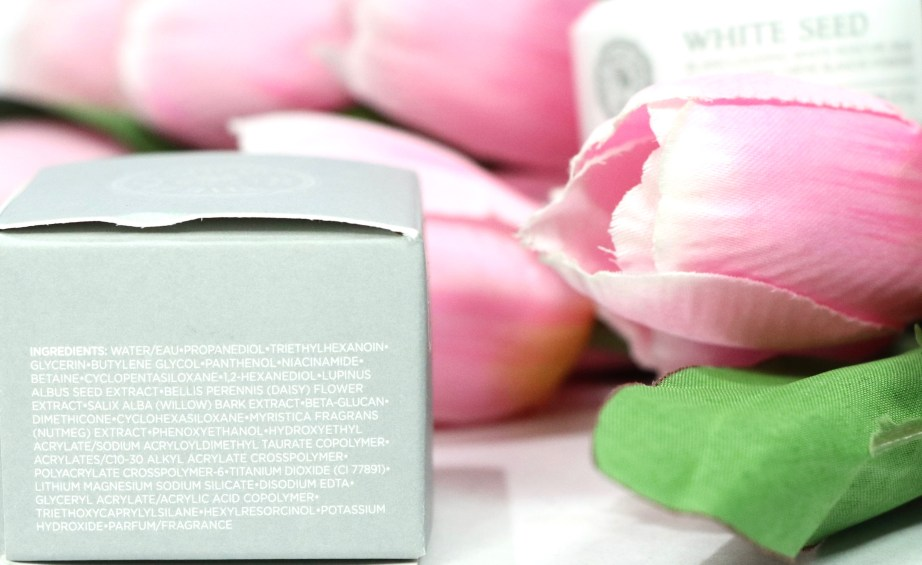 The Face Shop White Seed Blanclouding White Moisture Cream Review Ingredients