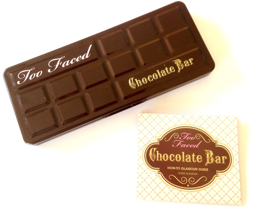 Too Faced Chocolate Bar Eyeshadow Palette Review, Swatches Palette & Guide