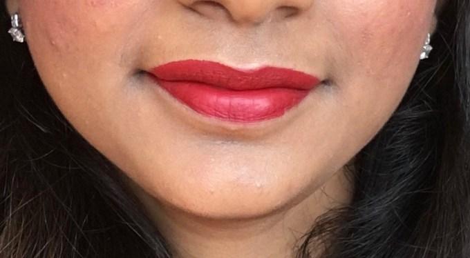 theBalm Meet Matte Hughes Long Lasting Liquid Lipstick Loyal Review, Swatches On Lip