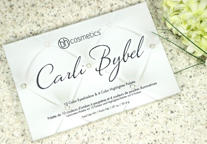 BH Cosmetics Carli Bybel Eyeshadow & Highlighter Palette Review, Swatches